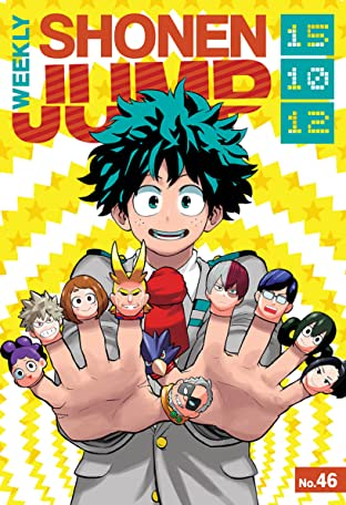 Weekly Shonen Jump Vol. 194: 10/12/2015