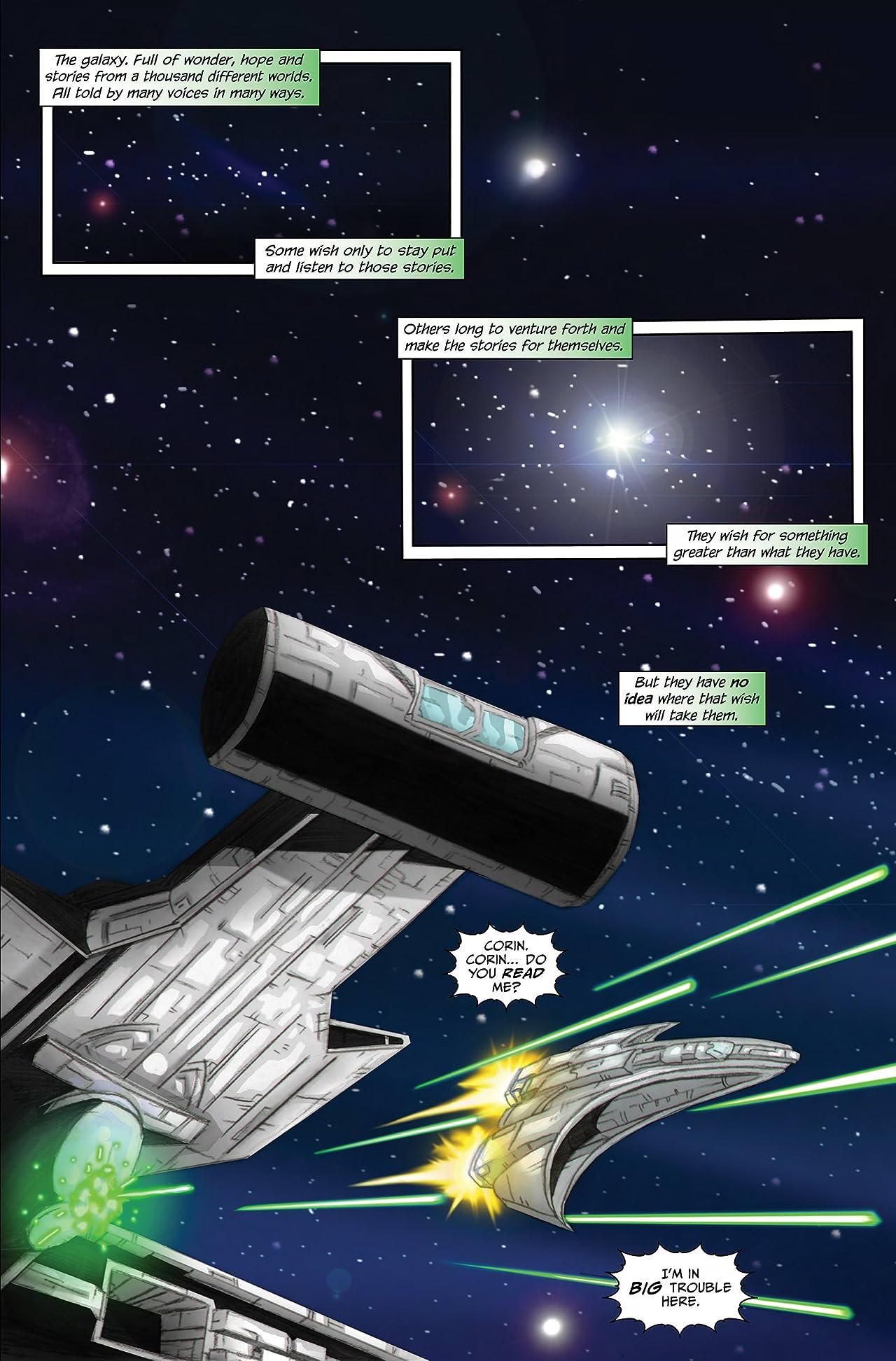 Roger Corman Presents: Battle Amongst the Stars #1