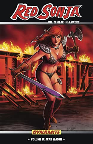 Red Sonja: She-Devil With a Sword Tome 9: War Season