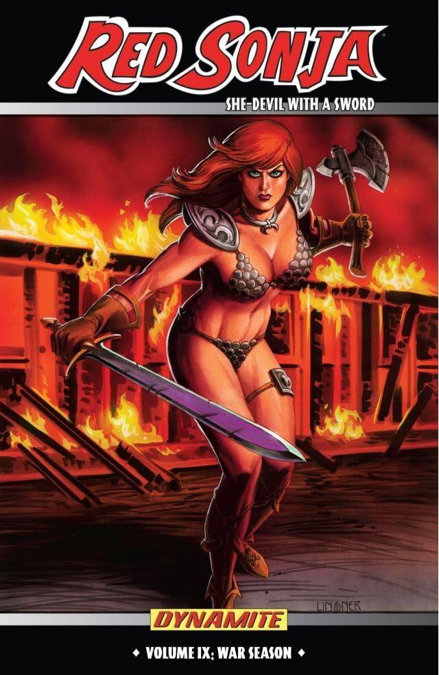 Red Sonja: She-Devil With a Sword Vol. 9: War Season