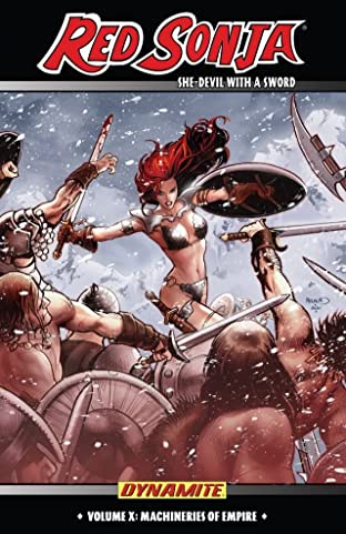 Red Sonja: She-Devil With a Sword Tome 10: Machines of Empire