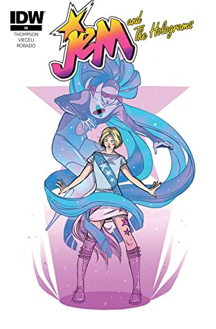 Jem and the Holograms (2015-2017) #8