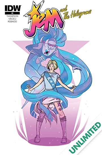 Jem and the Holograms (2015-) #8