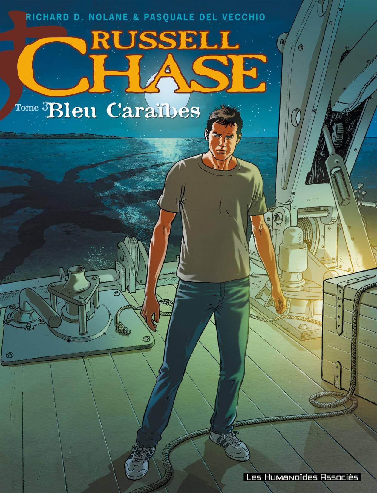 Russell Chase Vol. 3: Bleu Caraïbes