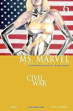 Ms. Marvel (2006-2010) No.6