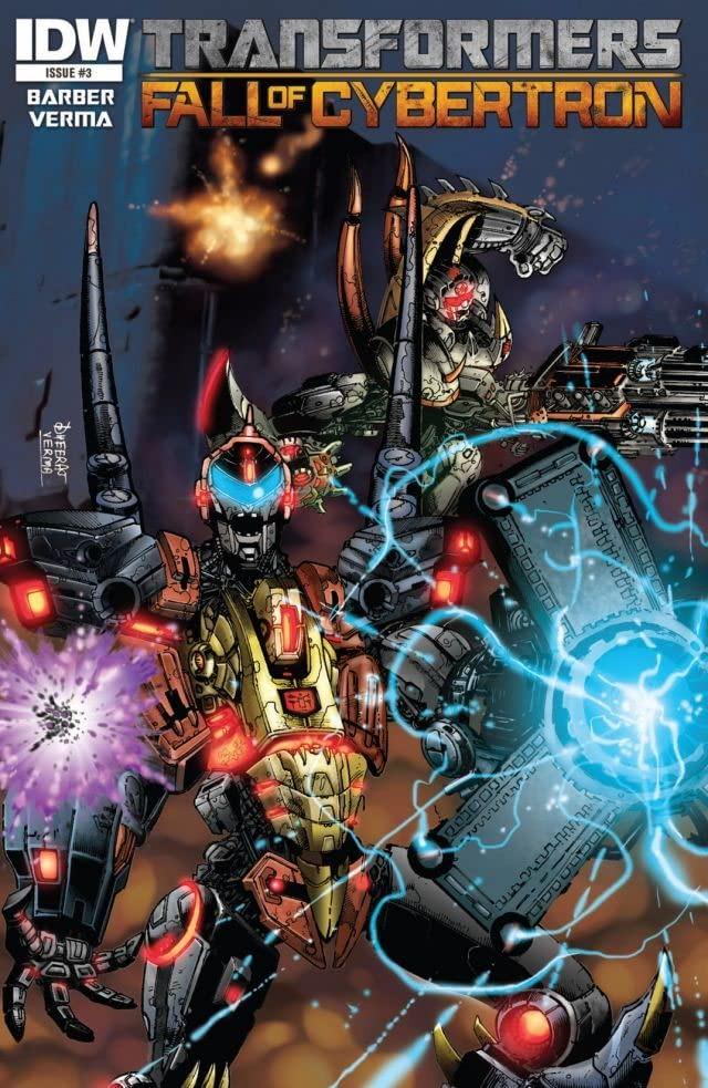 Transformers: Fall of Cybertron #3 (of 6)