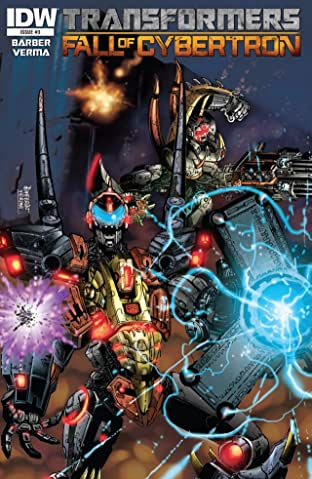 Transformers: Fall of Cybertron No.3 (sur 6)