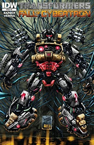 Transformers: Fall of Cybertron No.5 (sur 6)