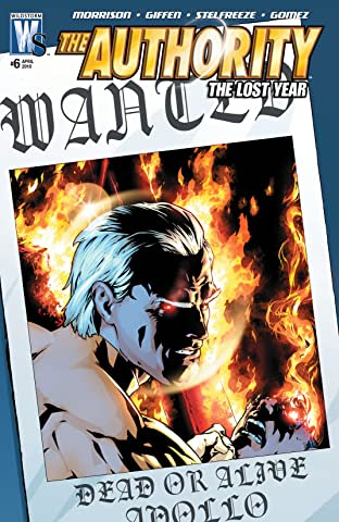 The Authority: The Lost Year (2006-2010) #6