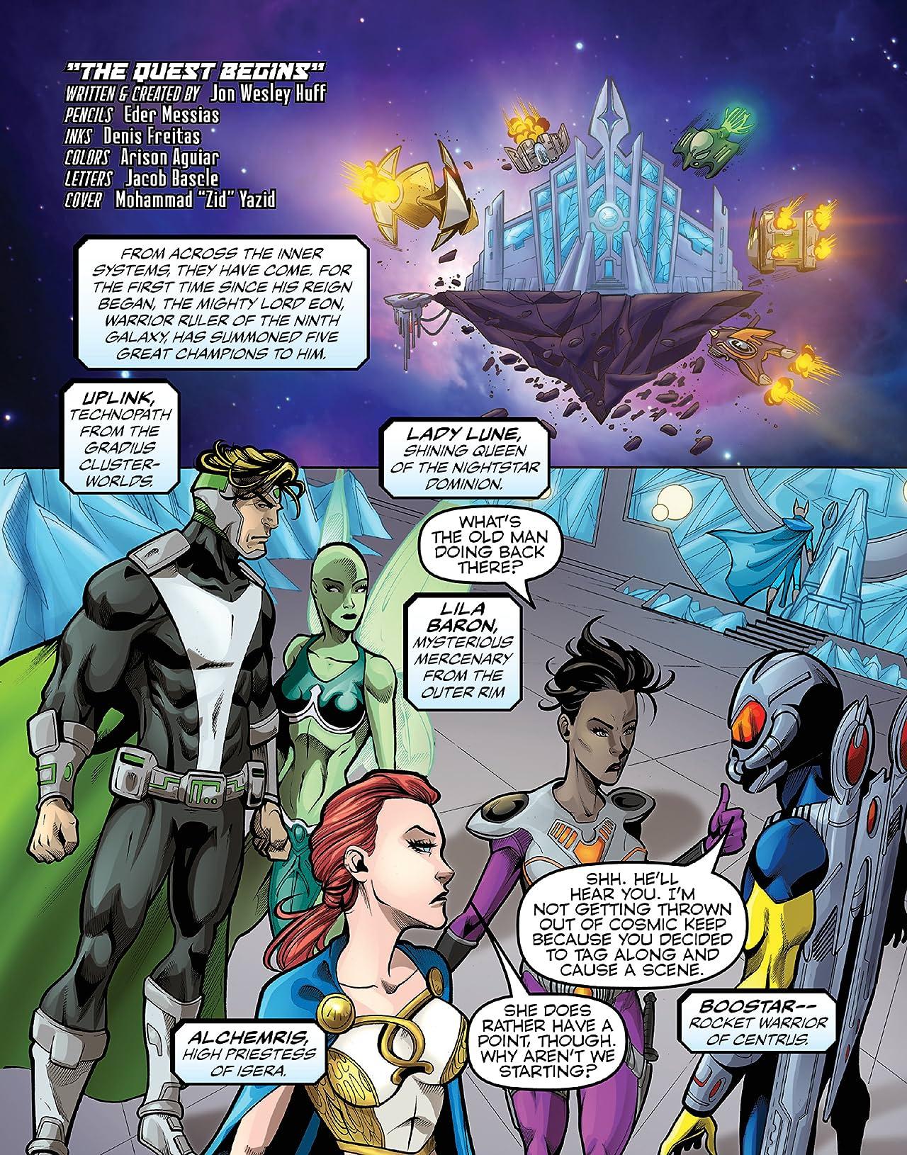 Eon Quest Vol. 1: The Quest Begins