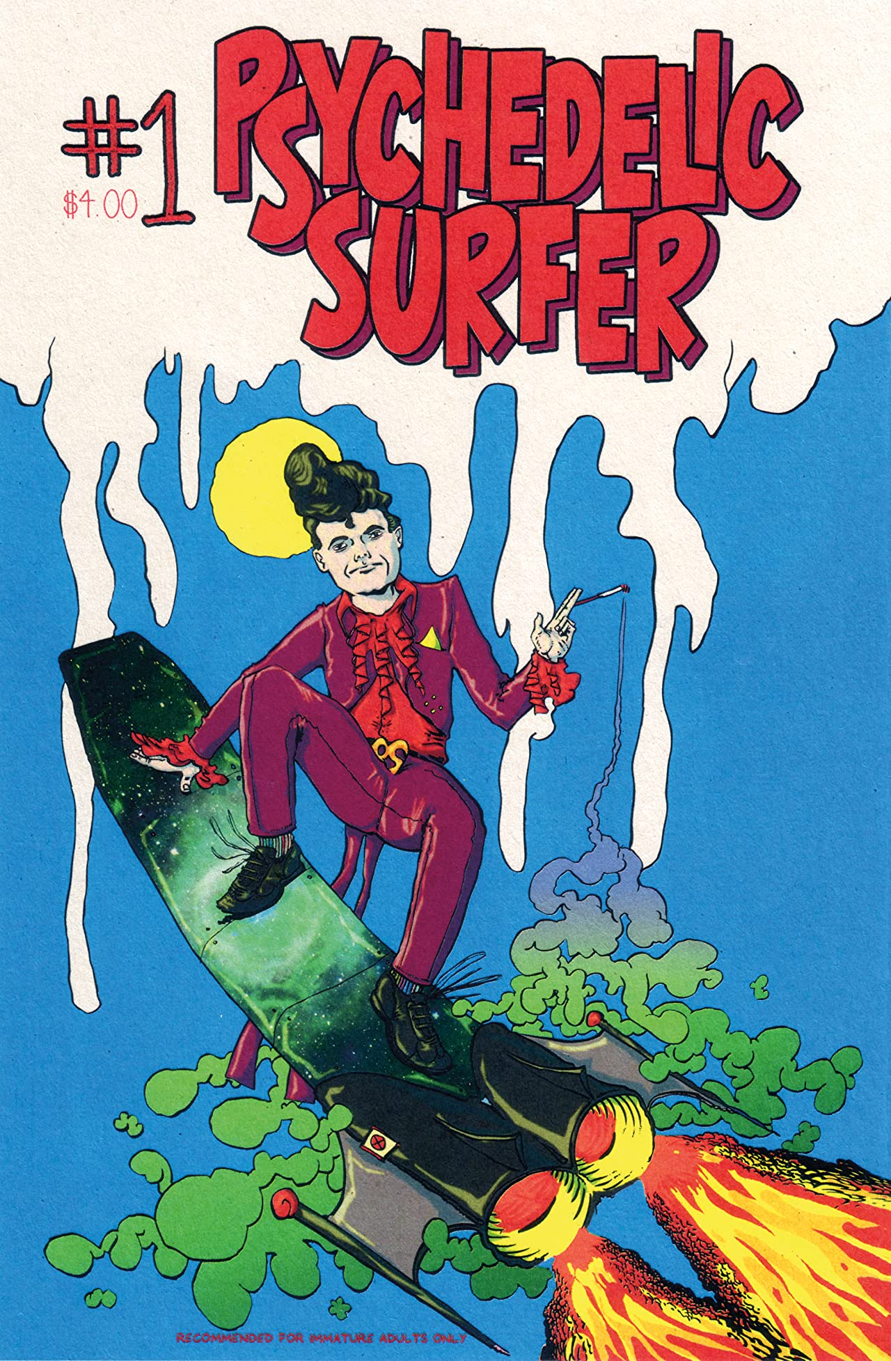 Psychedelic Surfer #1