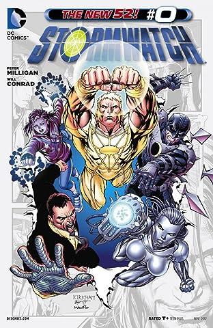 Stormwatch (2011-2014) #0