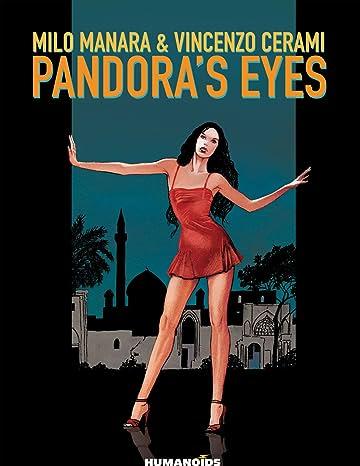 Pandora's Eyes Black and white