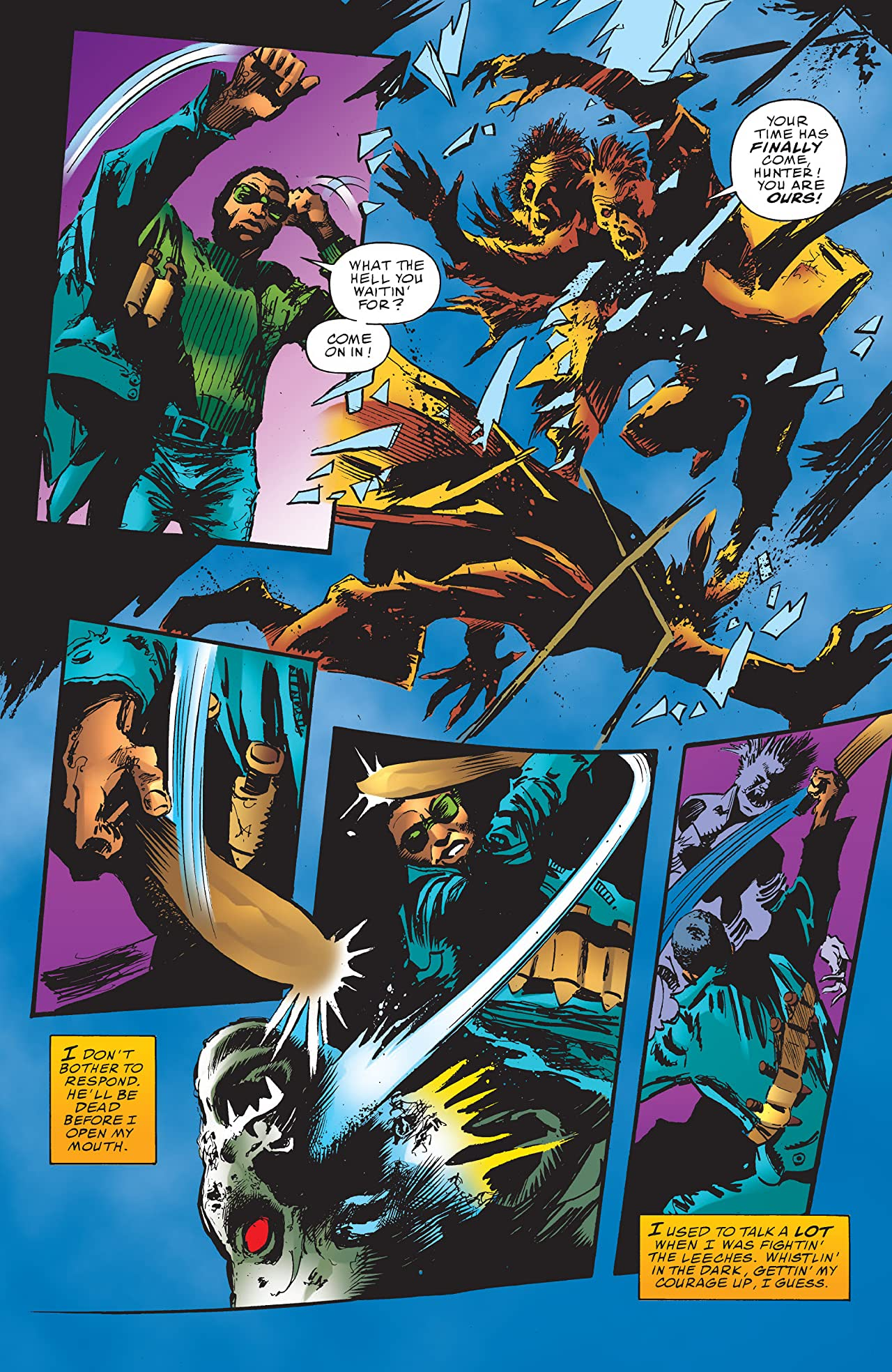Blade: Crescent City Blues (1998) #1