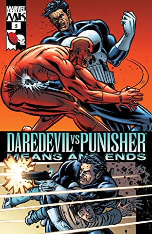 Daredevil vs. Punisher (2005) #5 (of 6)