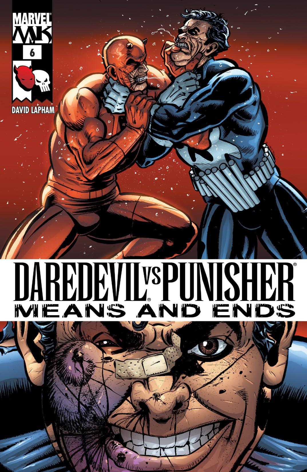 Daredevil vs. Punisher (2005) #6 (of 6)