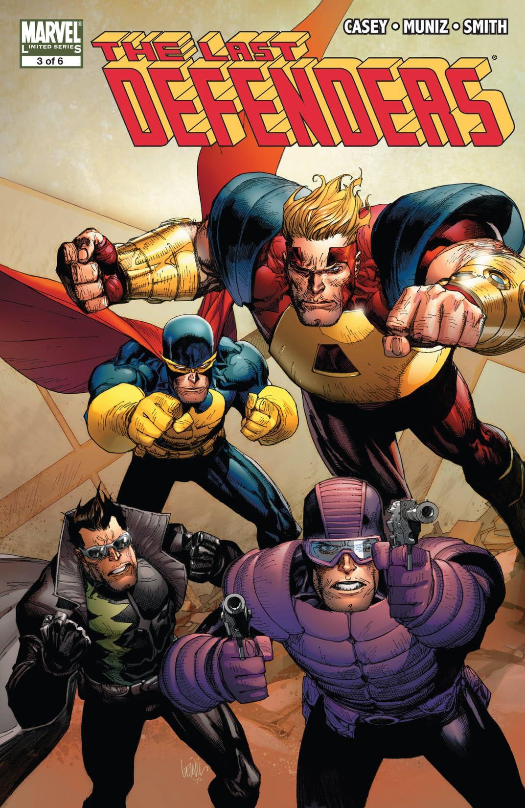 The Last Defenders (2008) #3 (of 6)