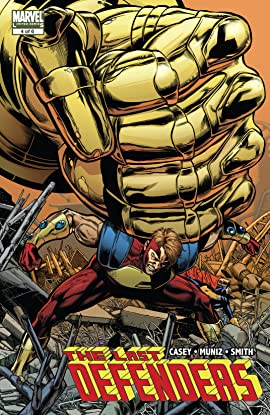 The Last Defenders (2008) #4 (of 6)