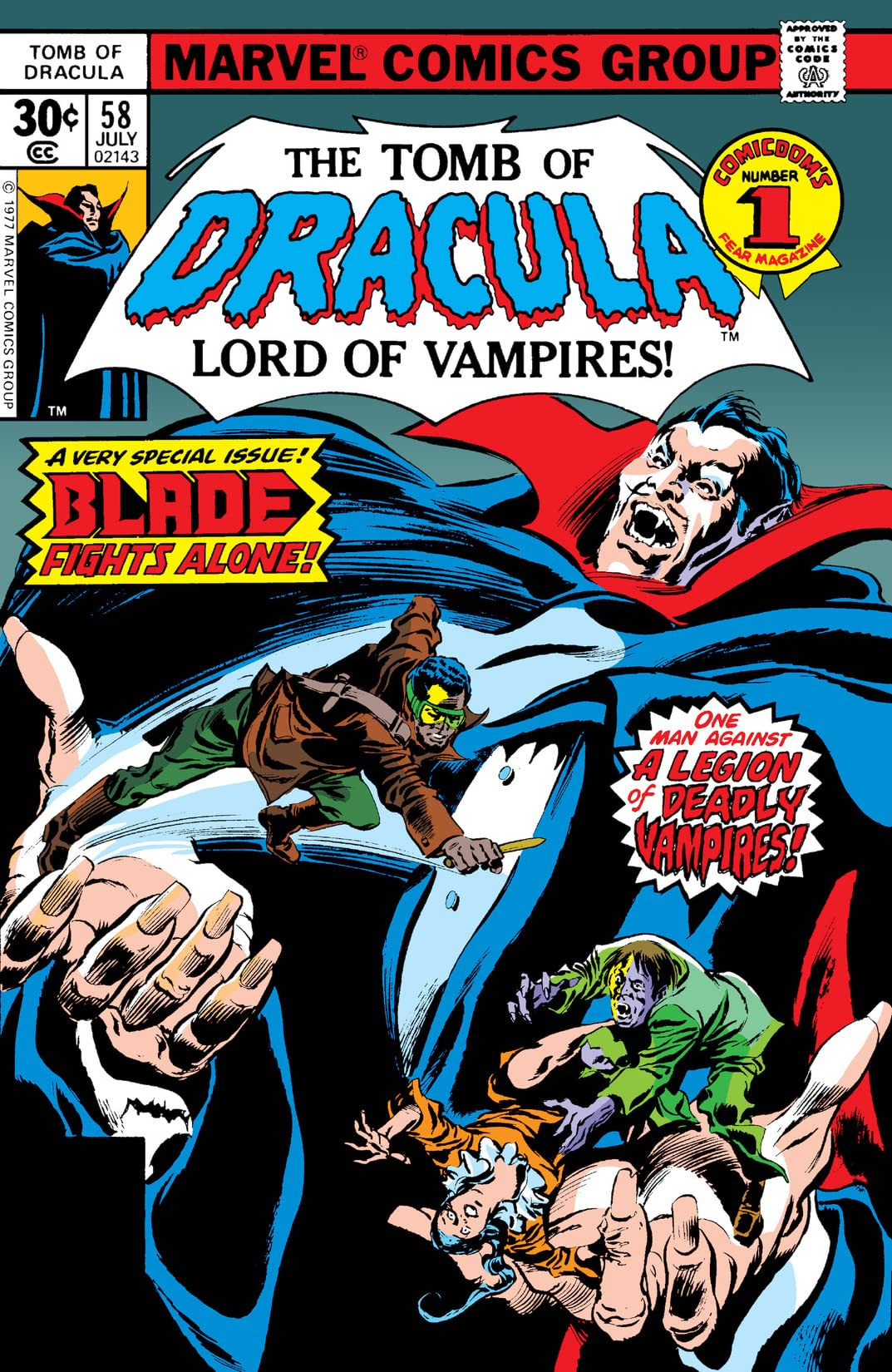 Tomb of Dracula (1972-1979) #58