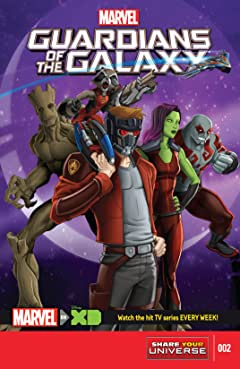 Marvel Universe Guardians of the Galaxy (2015-2017) #2