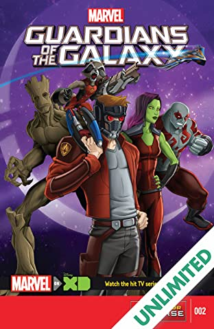 Marvel Universe Guardians of the Galaxy (2015-) #2