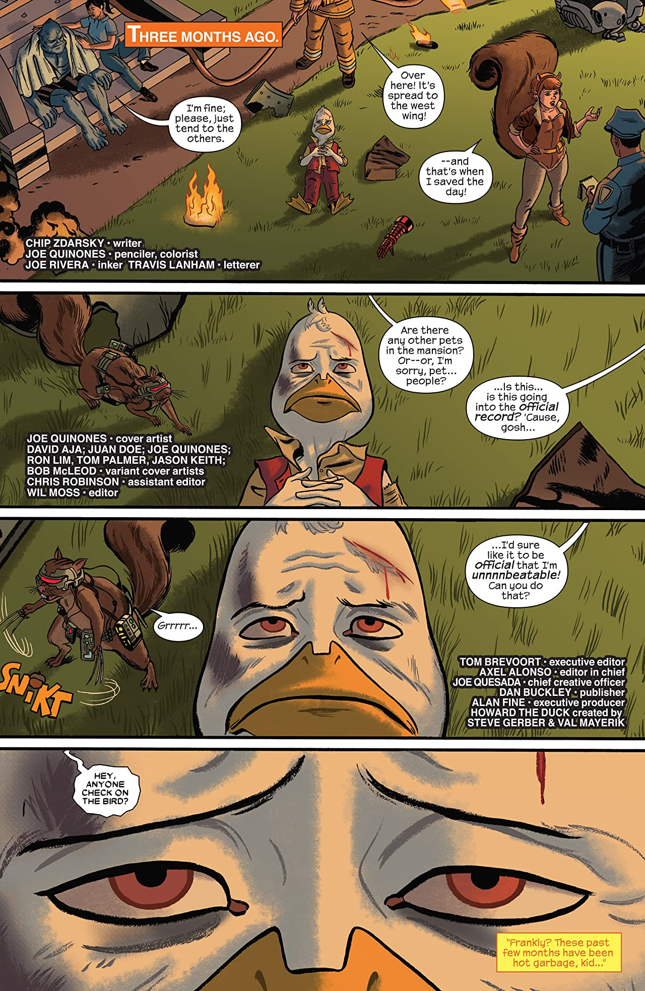 Howard The Duck (2015-2016) #1