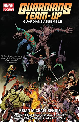 Guardians Team-Up Tome 1: Guardians Assemble