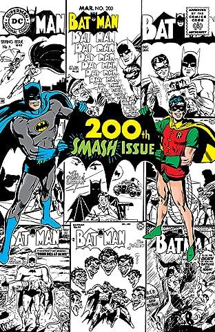 Batman (1940-2011) #200