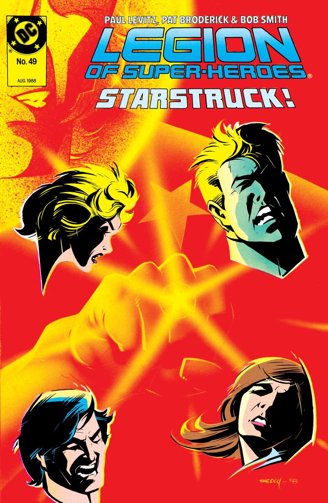 Legion of Super-Heroes (1984-1989) #49