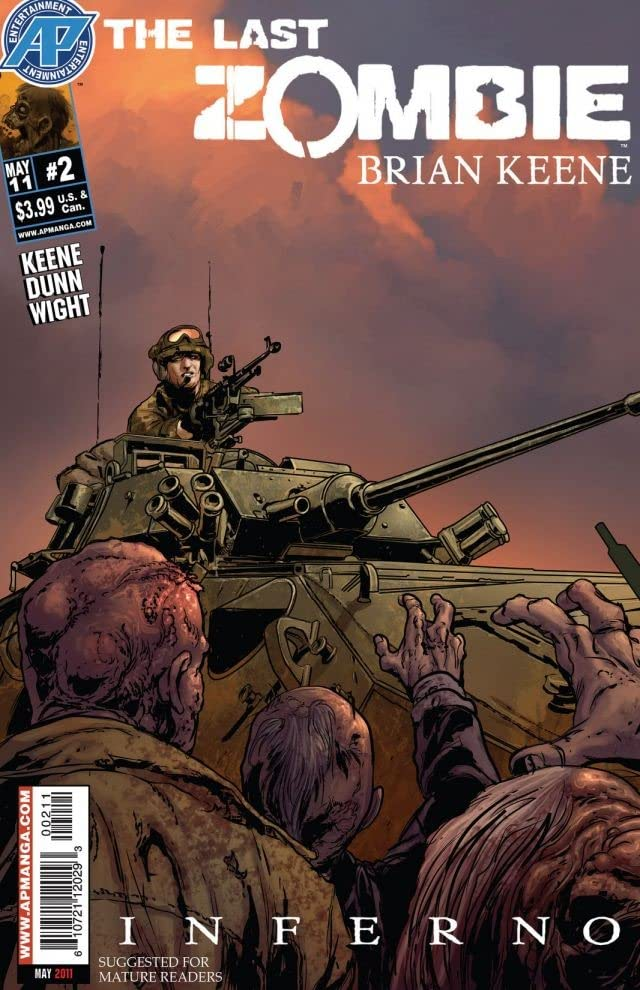 The Last Zombie: Inferno #2 (of 5)