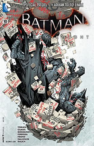 Batman: Arkham Knight (2015-2016): Print Version #10