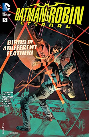Batman & Robin Eternal (2015-) #5