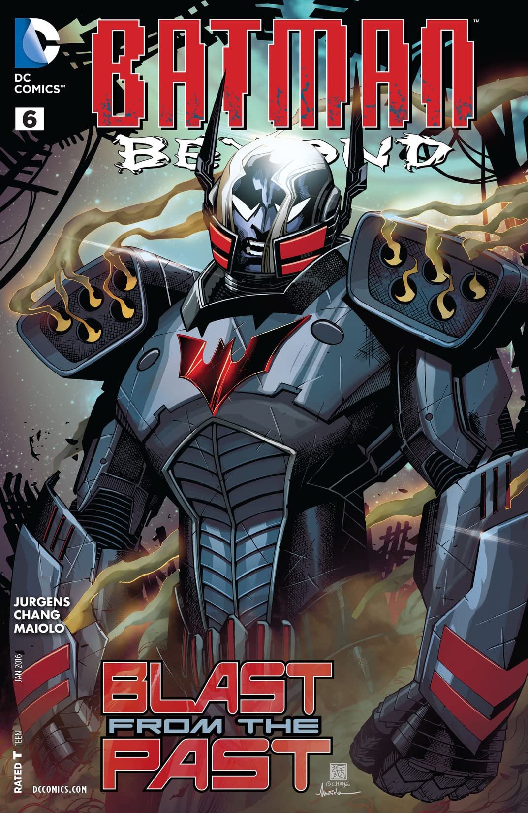 Batman Beyond (2015-2016) #6