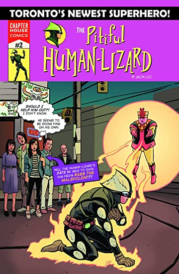 Pitiful Human-Lizard #2