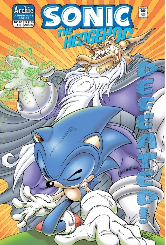 Sonic the Hedgehog #66
