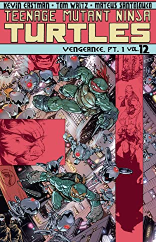 Teenage Mutant Ninja Turtles Tome 12: Vengeance, Part 1