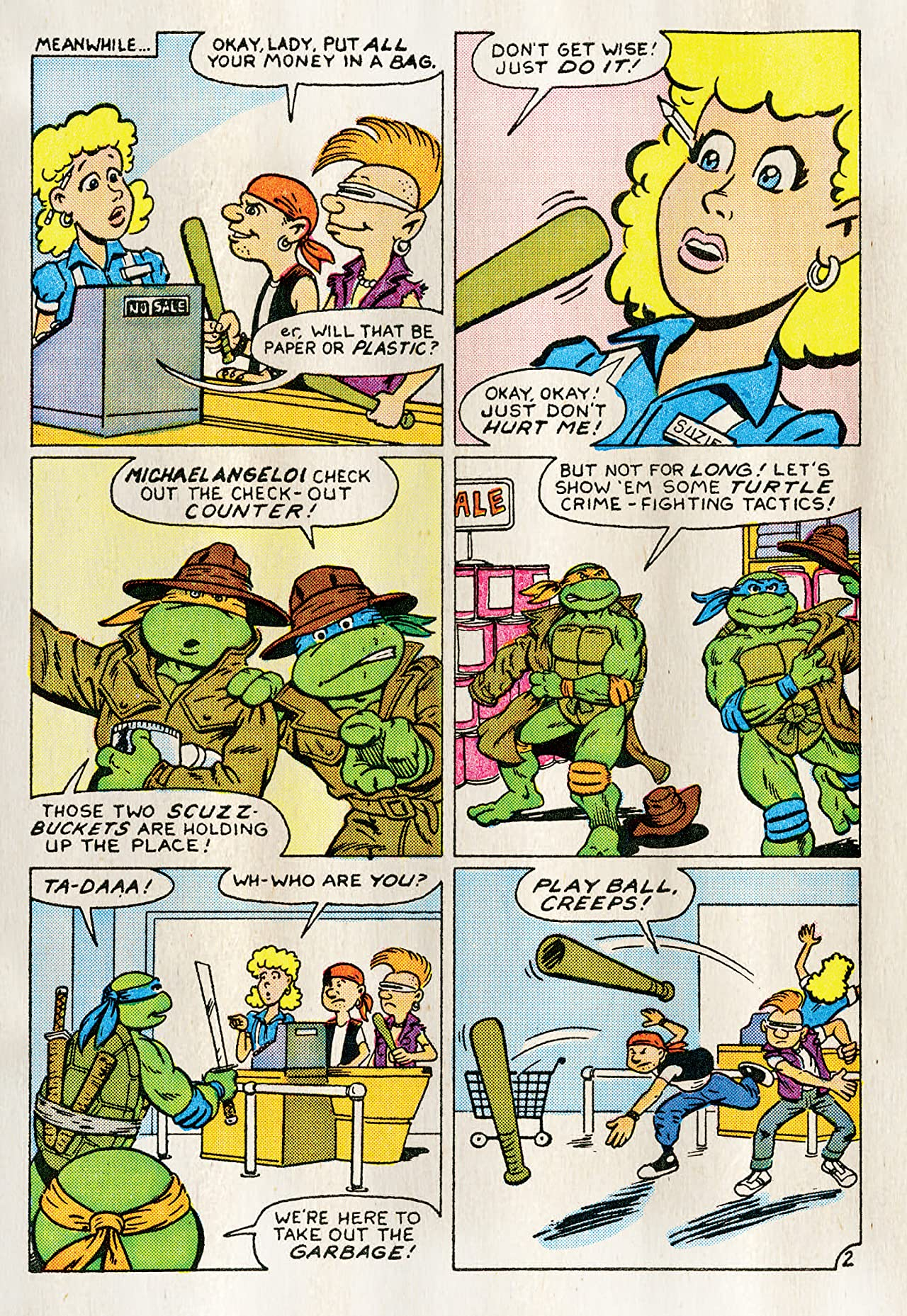 Teenage Mutant Ninja Turtles Adventures Vol. 1
