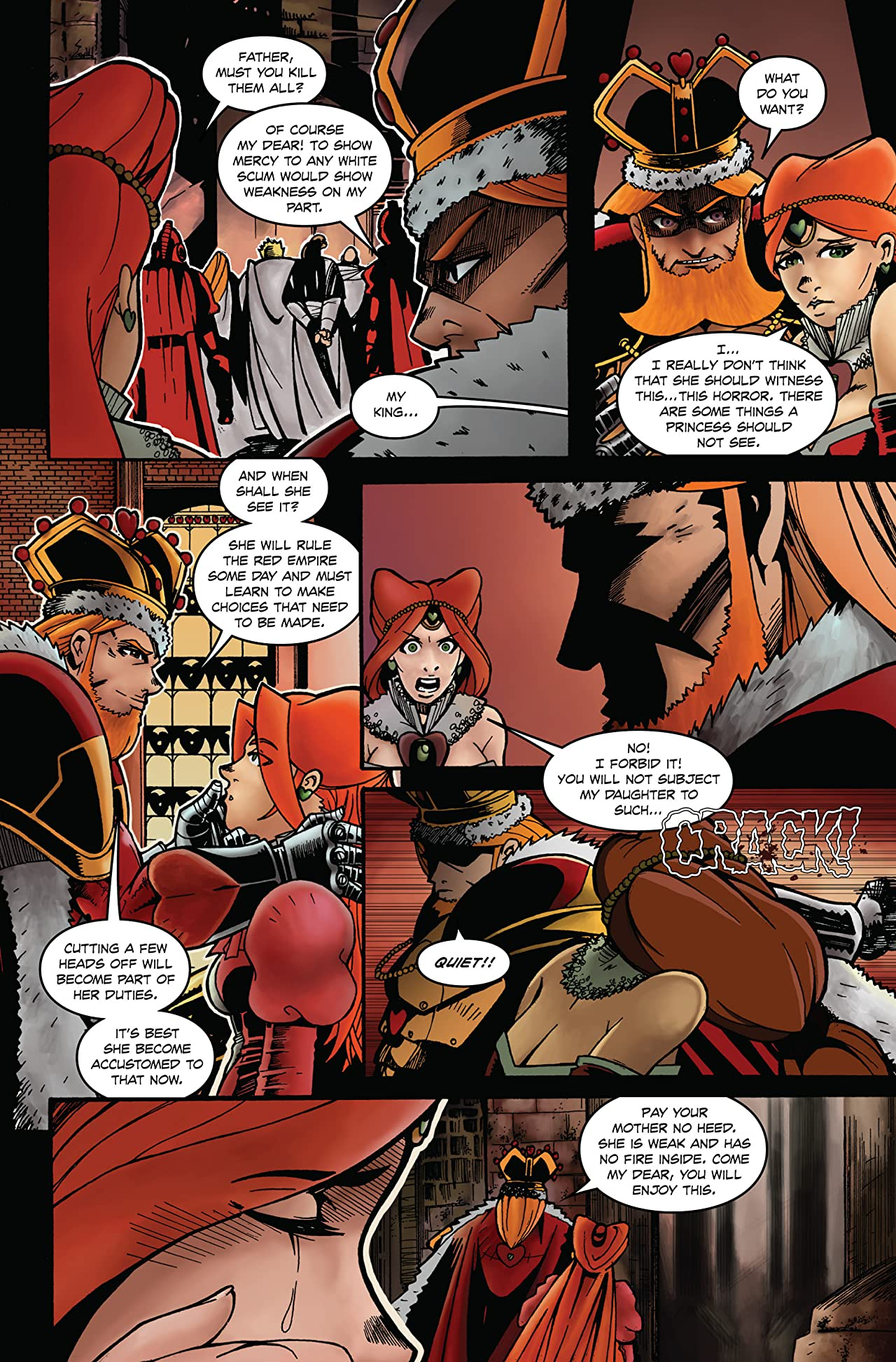 Alice In Wonderland's Queen of Hearts #0