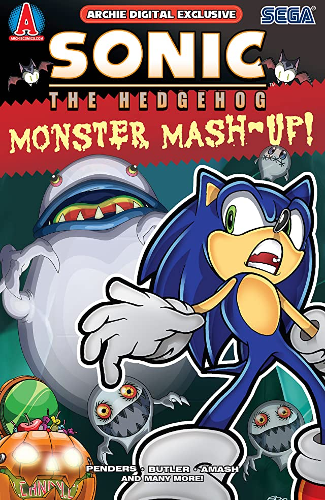 Sonic's Monster Mash-Up