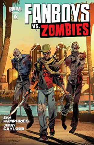 Fanboys vs. Zombies No.6