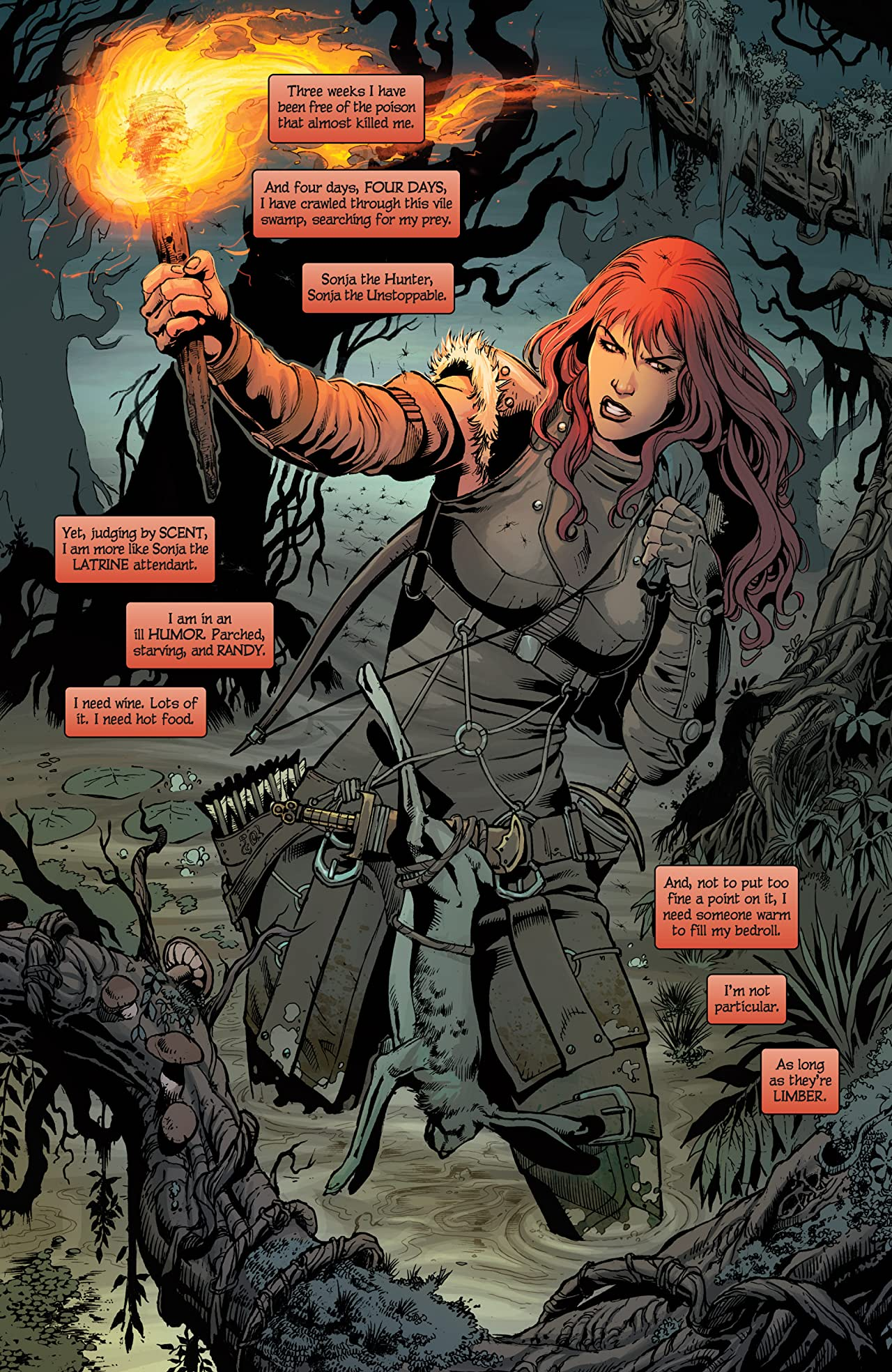 Red Sonja Vol. 2: The Art of Blood and Fire