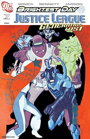 Justice League: Generation Lost No.7