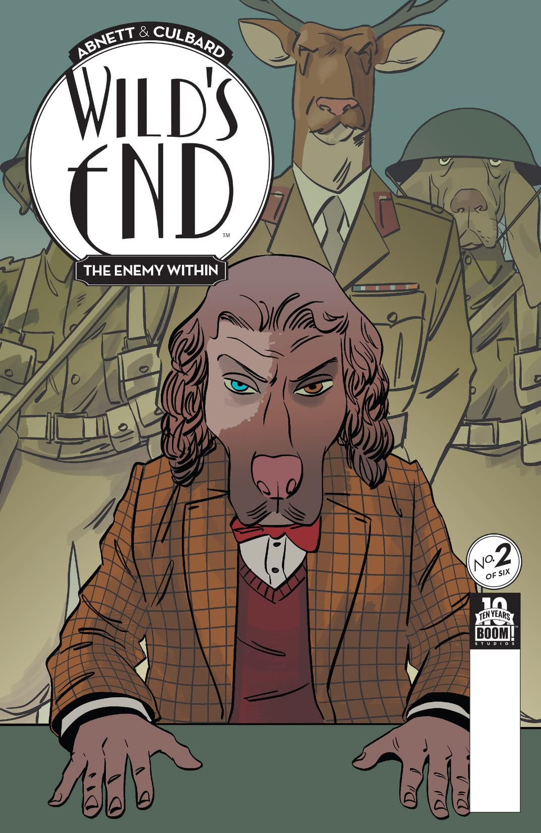 Wild's End: The Enemy Within #2