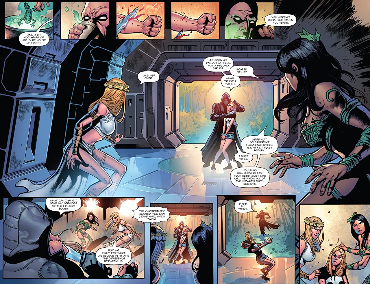 Coven #4 (of 5)
