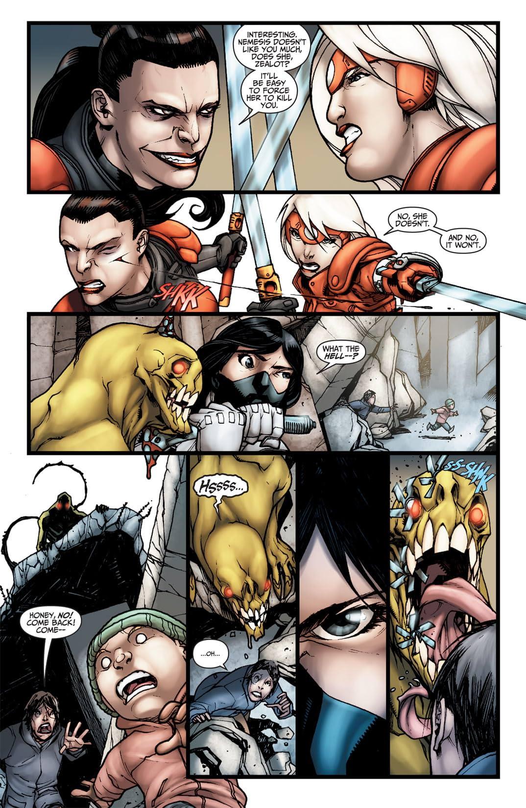 Wildcats (2008-2011) #7