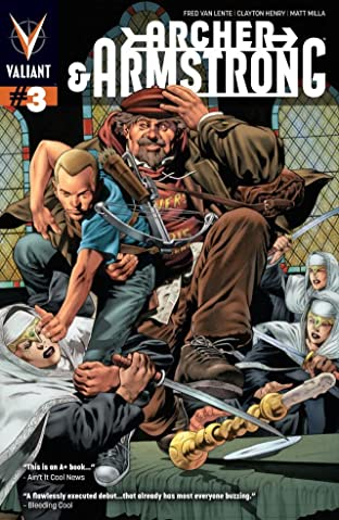 Archer & Armstrong (2012- ) No.3: Digital Exclusives Edition