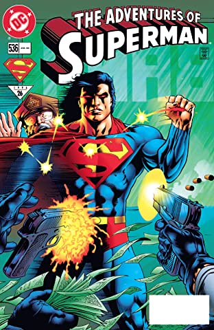 Adventures of Superman (1986-2006) #536