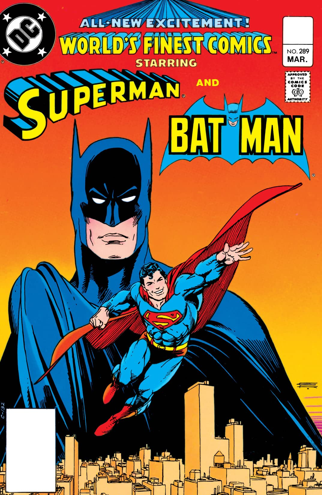 World's Finest Comics (1941-1986) #289