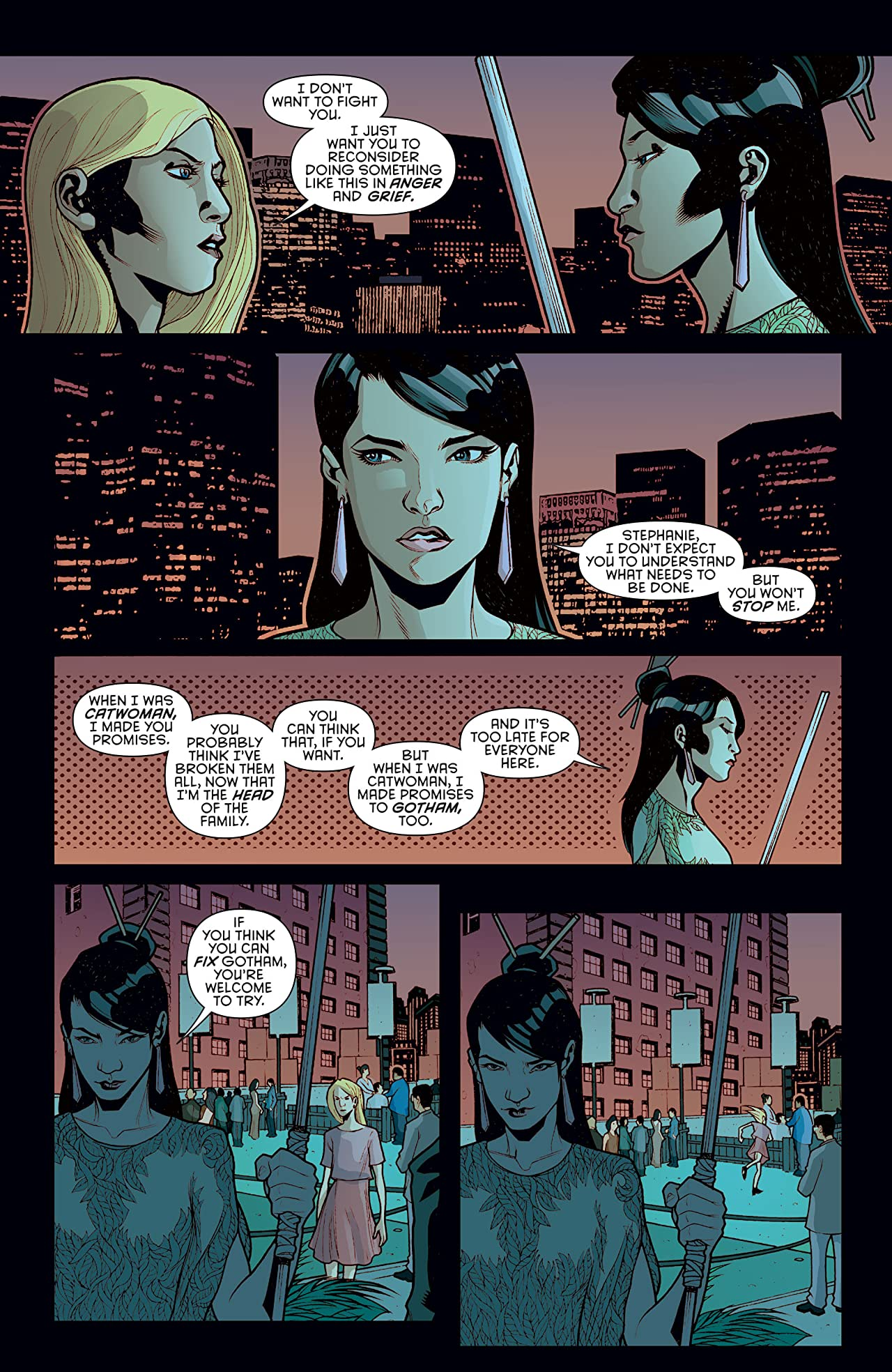 Catwoman (2011-2016) #46