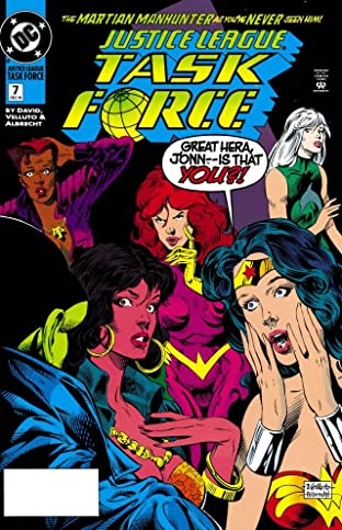 Justice League Task Force (1993-1996) No.7